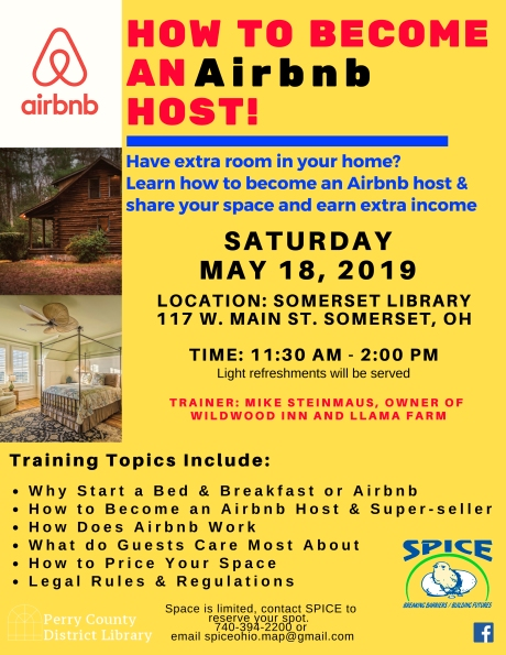 How To Become An AirBnB Host – Southern Perry Incubation Center for